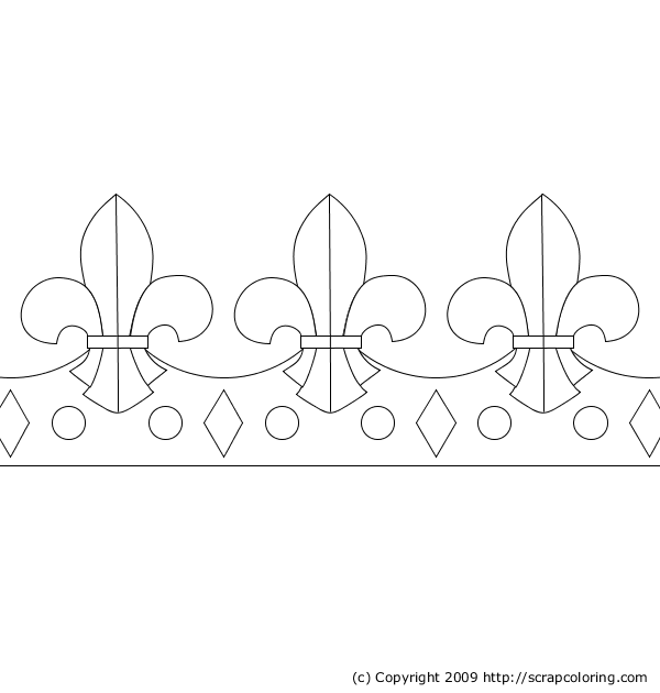 kings crown coloring page king crown
