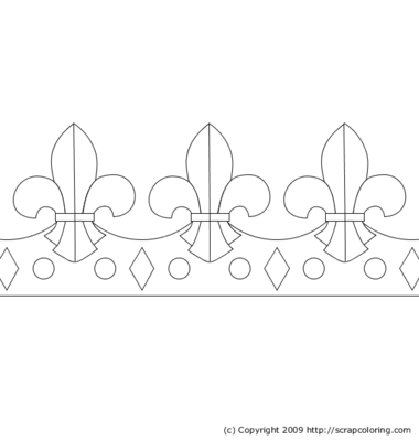 Queen Tiara Coloring Page Coloring Coloring Pages
