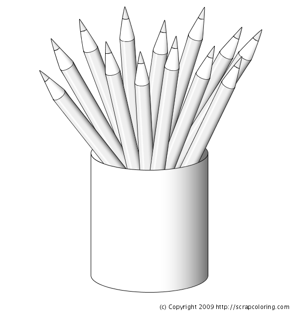 pencil coloring pages - photo#32