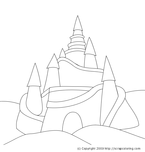 28 Sand Coloring Pages
