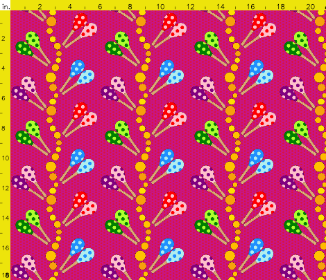 Maracas pattern