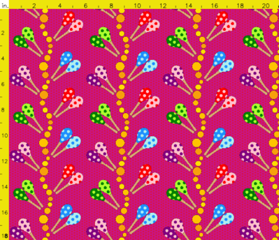 Spoonflower contest - Musical Instruments -- 30/04/10