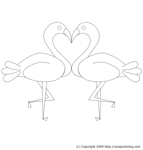 hearts and kisses coloring pages - photo#21