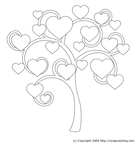 Bare tree coloring page az coloring pages - Free Coloring Pages Of Tree Of Life
