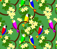 Spoonflower contest - Tiki