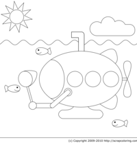 Fishing Submarine