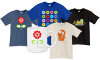 Tshirts, mugs, mousepads and more with your colored images!