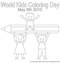 World Kids Coloring Day 2010